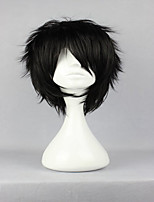 Top Center Design The Prince of Tennis Akaya Kirihara Classical Asia Black Cosplay Wig