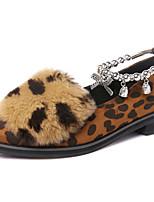נשים-נעליים ללא שרוכים-סינטתי-נוחות-שחור / שחור מט-משרד ועבודה / קז'ואל / מסיבה וערב-עקב נמוך