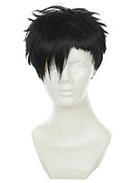 Black Street GANGSTA Bandit NICO Nicholas Brown Twilight race black cosplay wig