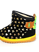 Boy's Boots Fall Winter Comfort PU Outdoor Casual Flat Heel Others Blue Yellow Red Walking