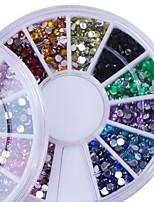 маникюр ложь относится к отечественной алмазов 12 цвет маникюра алмазного дрель дрель ногтей коробки мобильного телефона красоты