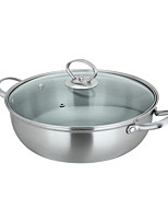 304 Stainless Steel Five Layer Steel Stockpot    28cm