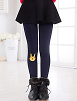 Girl Casual/Daily Solid Pants-Cotton Winter