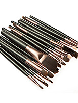 20 Makeup Brushes Set Synthetic Hair Professional / Portable Wood Face / Eye / Lip 3#