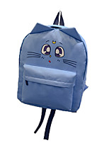 Women Nylon Casual / Outdoor Backpack Pink / Purple / Blue / Red / Gray / Black