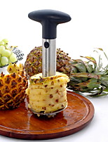 Silver Stainless Steel Pineapple De-Corer Peeler Stem Remover Blades for Diced Fruit Rings -May Fifteenth