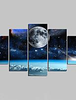 Nezarámované na plátně Krajina Moderní,Pět panelů Plátno Jakýkoliv Shape Tisk Art Wall Decor For Home dekorace