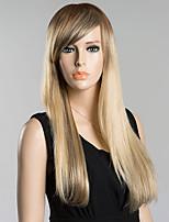 элегантный моды прямые парики человеческих волос для женщин
