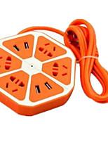 утилита USB многофункциональный разъем (оранжевый шестигранный)