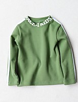 Boy's Casual/Daily Solid Hoodie & SweatshirtCotton Winter Black / Green / Red / Yellow