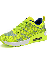 Women's Sneakers Spring / Fall Comfort Fabric Casual Flat Heel Black / Blue / Green / Orange Sneaker