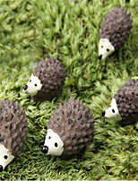 Moss Micro-Landscape Decorative Ornaments Hedgehog Mother And Small Hedgehog Doll Ornaments