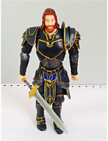 LOL Sir Anduin Lothar Cosplay PVC 21cm Anime Action Figures Model Toys Doll Toy1pc