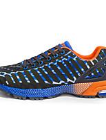 Синий Фиолетовый Красный Оранжевый-Мужской-Повседневный-Полиуретан-На плоской подошве-Удобная обувь-Кеды