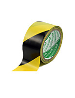 (Note Packing 2 Black And Yellow Size 1800 Cm * 4.8cm *) Warning Tape