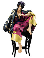 Gintama Shinsuke Takasugi PVC 20cm Anime Action Figures Model Toys Doll Toy 1pc
