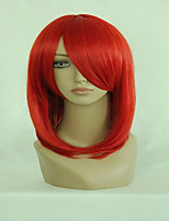 Black Butler Madame Rouge Hot  Red Medium Straight Fashion Anime Women Costume Cosplay Party Wig