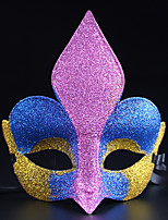 (Color random)1PC   Halloween Costume Party Mask Toe Box Ornaments