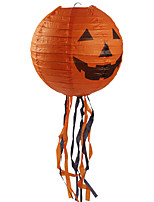 1PC Halloween Portable Hanging  Paper Lantern Decorative Supplies Props