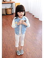 Girl's Casual/Daily Solid Suit & BlazerCotton Fall Blue / Pink / White