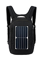20L L Travel Duffel / Travel Organizer / Daypack / Backpack Leisure Sports / Traveling Outdoor Wearable / Solar Panel / Laptop Packs Black