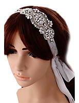 Women's Satin Headpiece-Wedding Special Occasion Headbands 1 Piece