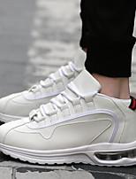 Atletické boty-mikrovlákno-Pohodlné-Pánské-Černá Červená Bílá Černobílá-Atletika-Plochá podrážka
