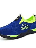 Boy's Sneakers Fall / Winter Comfort Suede Athletic Flat Heel Slip-on Blue / Light Green / Royal Blue / Taupe Sneaker