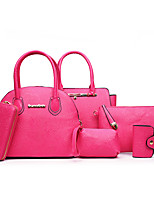 Women PU Formal Casual Event/Party Wedding Office & Career Bag Sets All Seasons