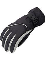 Ski Gloves Women's / Men's Activity/ Sports Gloves Keep Warm / Waterproof Ski & Snowboard / Snowboarding / Motorbike PU Ski Gloves Winter