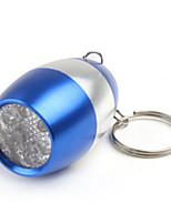 Eclairage Lampes de poche Porte-clés LED 50 Lumens 1 Mode LED CR2016 Petit Camping/Randonnée/Spéléologie / Usage quotidienAlliage