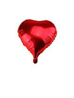 обратите внимание на сердце образный 18-дюймовый красный пакет 10 продано праздник украшения алюминиевый шар дня рождения расположение