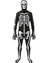 Plus Size Skull Skeleton Costume Devil Witch Cosplay Halloween Role Playing Costumes Skull Cosplay For Men