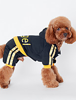 Dog Hoodie Black / Pink Dog Clothes Winter / Spring/Fall Letter & Number Sports / Casual/Daily /