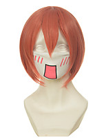 Love Live! Hoshizora Rin Orange Short Halloween Wigs Synthetic Wigs Costume Wigs