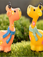 Random Delivery Moss Micro-Landscape Decorative Decoration Couple Bambi Doll Decoration