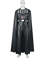Men's Star Battle Darth Vader Costume Deluxe Dark Lord Cosplay Outfit Halloween