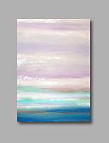 Peint à la main Abstrait / A fleurs/Botanique Peintures à l'huile,Modern Un Panneau Toile Peinture à l'huile Hang-peint For Décoration