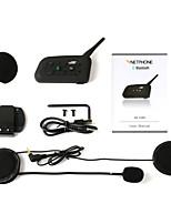 capacete da motocicleta passeio Bluetooth v6-1200 nova embalagem walkie-talkie