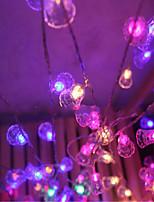 свет строки рождественские огни празднику 10 метров ламп Водонепроницаемые колокола украшения венчания держателя 50 светильника