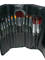 13 Makeup Brushes Set Goat Hair Portable Wood Face Others