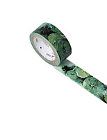 (Note Pack 2 700 Cm * 1.5cm) Dark Green Paper Tape