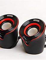 USB 2 Small Speaker Notebook Speakers Car Audio