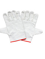 24 Line Double Thick Canvas Protective  Gloves 10 Pairs Packaged for Sale