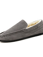 Men's Loafers & Slip-Ons Moccasin / Comfort PU Outdoor / Casual Flat Heel Others Black / Brown / Gray Walking / Others