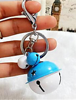 Korean Version Of The Creative Metal Candy Color Ring Key Ring DIY Cartoon Lovely Couple Car Bag Pendant