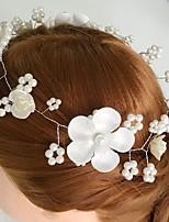 Vrouwen Licht Metaal / Acryl / Stof Helm-Bruiloft / Speciale gelegenheden / Informeel Bloemen 1 Stuk