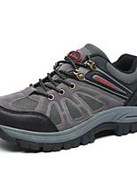 Коричневый Зеленый Серый-Мужской-Повседневный-Ткань-На плоской подошве-Удобная обувь-Кеды