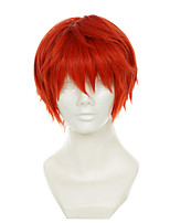 Assassination Classroom Akabane Karuma Jacinth Versatile Turned Halloween Wigs Synthetic Wigs Costume Wigs