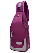 Women Oxford Cloth / Polyester / Cotton Sports / Casual / Outdoor Sling Shoulder Bags Purple / Blue / Black